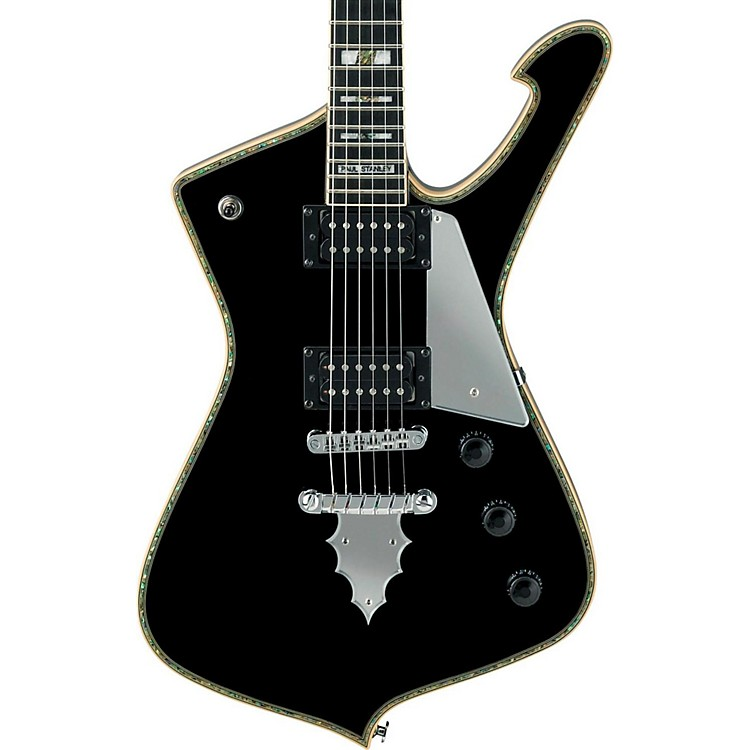Ibanez PS Series PS120 Paul Stanley Signature Electric Guitar Gloss Black