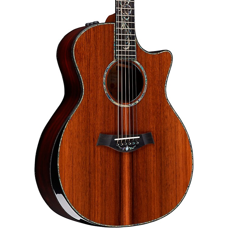 TaylorPS14ce V-Class Grand Auditorium Acoustic-Electric GuitarNatural