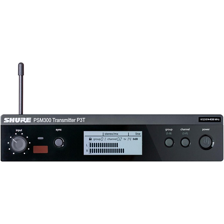 Shure PSM 300 Wireless Transmitter P3T Band K12