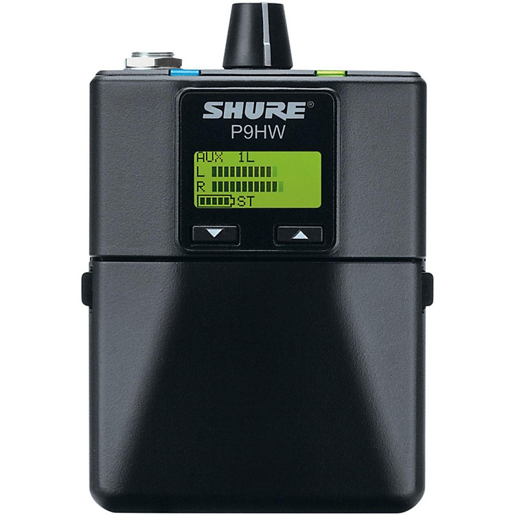 Shure PSM 900 Wired Bodypack Personal Monitor P9HW