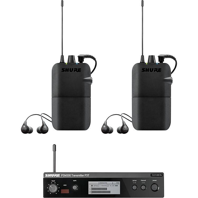 ShurePSM300 Twin PackBand J13