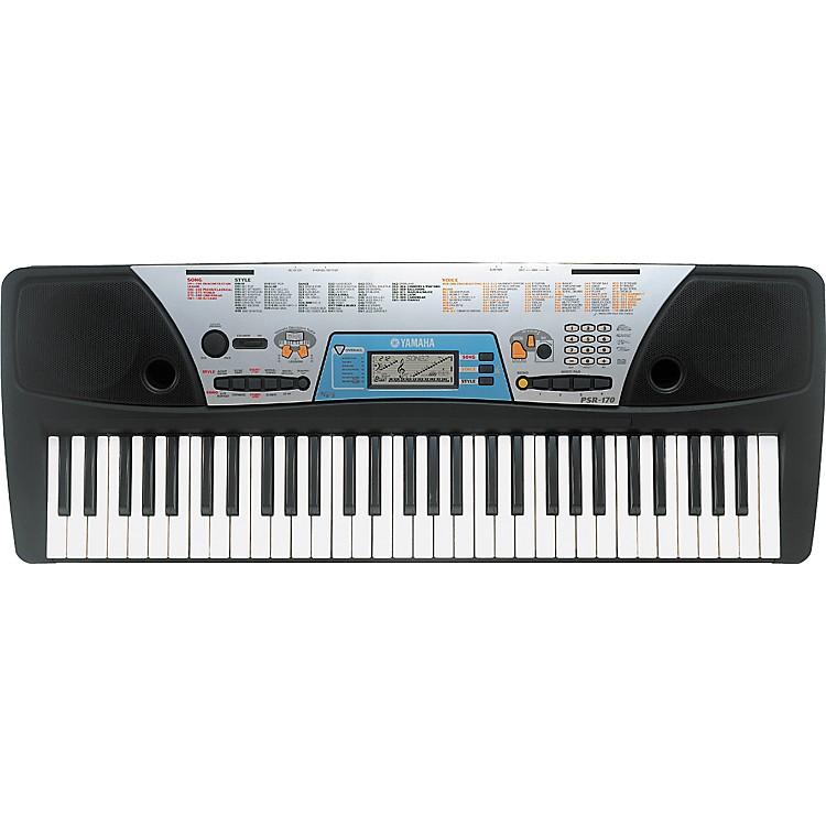 Yamaha psr 170 61 key portable keyboard music123 for Yamaha piano keyboard 61 key psr 180