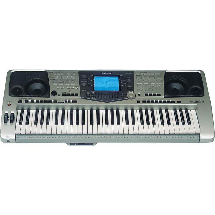 Yamaha psr 2000 61 key keyboard music123 for Yamaha piano keyboard 61 key psr 180