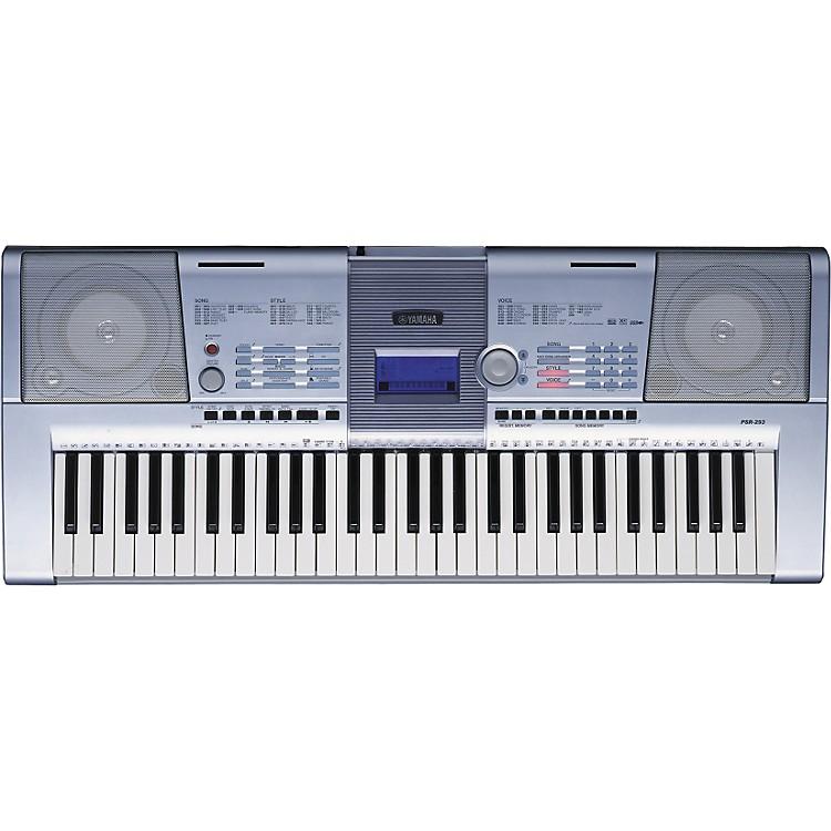 Yamaha psr 293 61 key portable keyboard music123 for Yamaha piano keyboard 61 key psr 180
