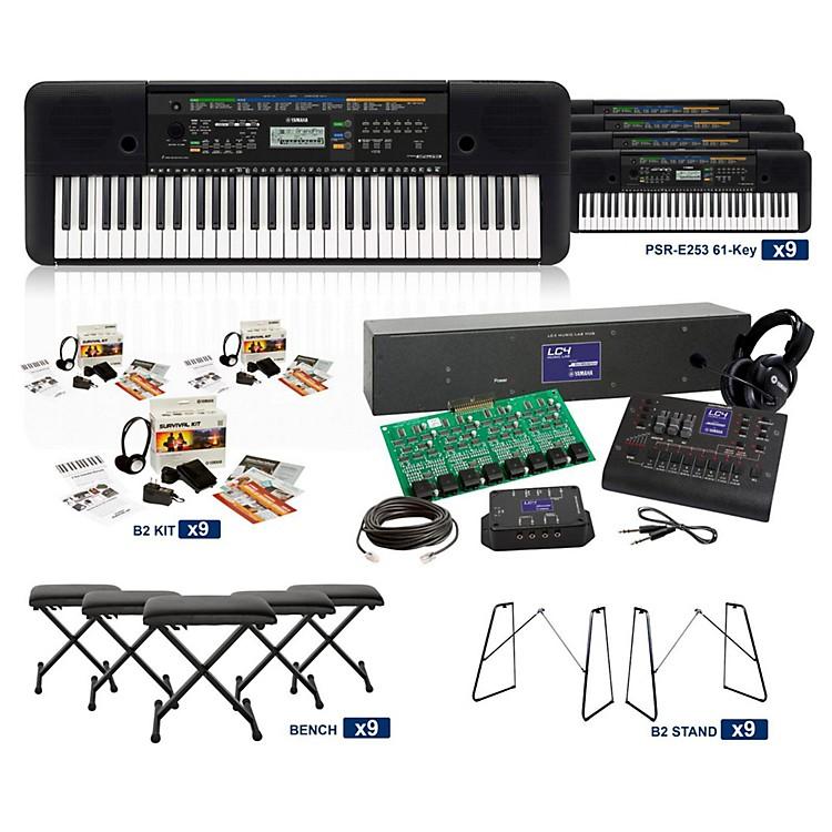 YamahaPSR-E253 61-Key LC4 Keyboard Lab