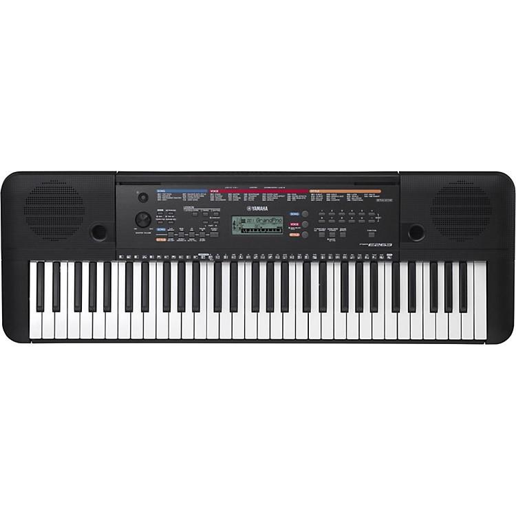 YamahaPSR-E263 61-Key Portable Arranger KeyboardBlack