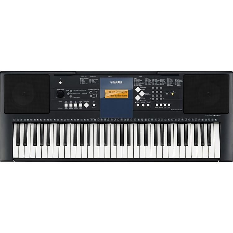 YamahaPSR-E333 61-Key Mid-Level Portable Keyboard with Survival Kit