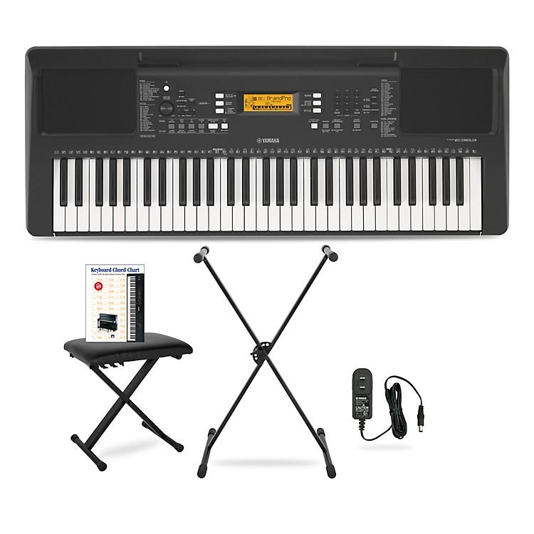 YamahaPSR-E363 61-Key Portable Keyboard PackageEssentials
