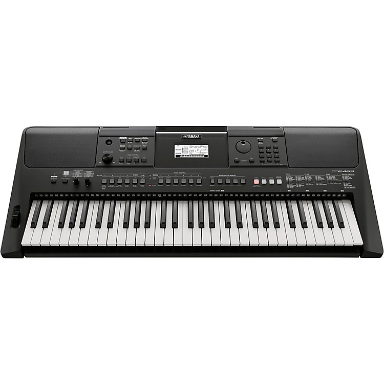 yamaha psr e463 61 key portable keyboard music123. Black Bedroom Furniture Sets. Home Design Ideas