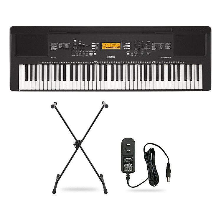 YamahaPSR-EW300 76-Key Portable Keyboard PackageBeginner