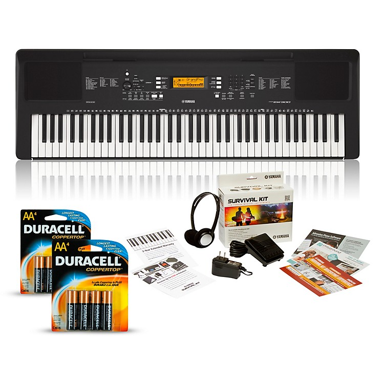 YamahaPSR-EW300 76-Key Portable Keyboard PackageEssentials Package