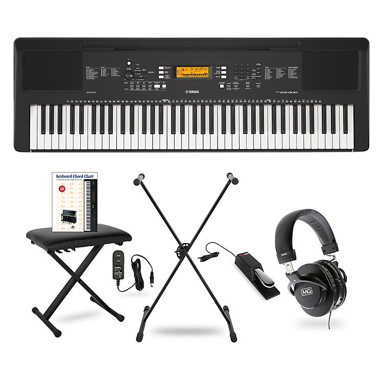 YamahaPSR-EW300 76-Key Portable Keyboard PackageEssentials