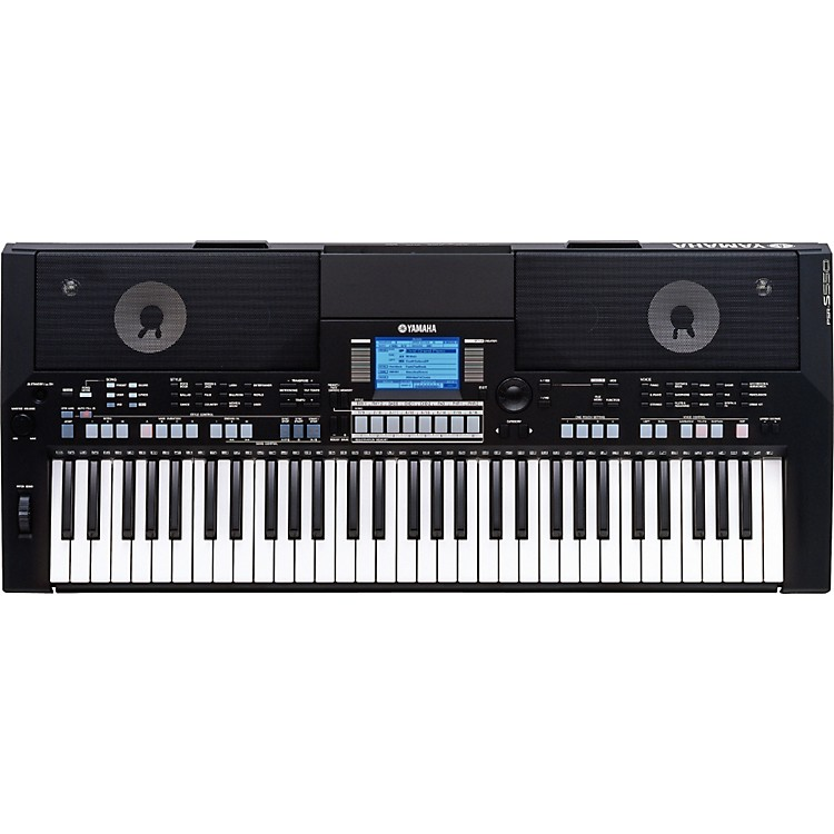 yamaha psr s550b arranger workstation keyboard music123. Black Bedroom Furniture Sets. Home Design Ideas
