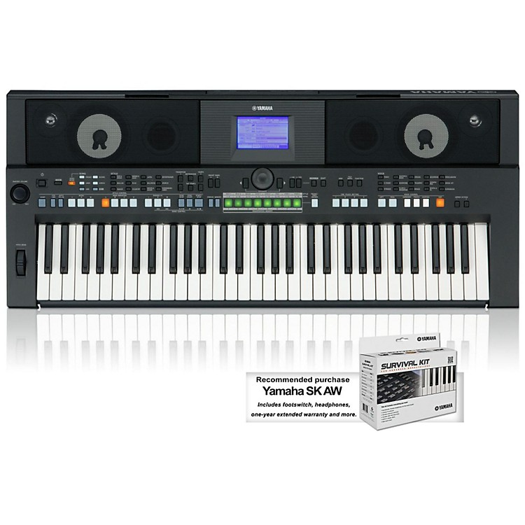 Yamaha PSR-S650 61-Key Arranger Workstation