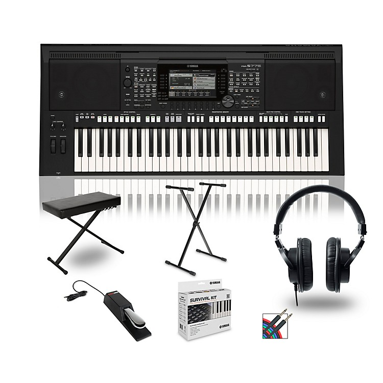 YamahaPSR-S775 Digital Piano Package With Stand and Bench
