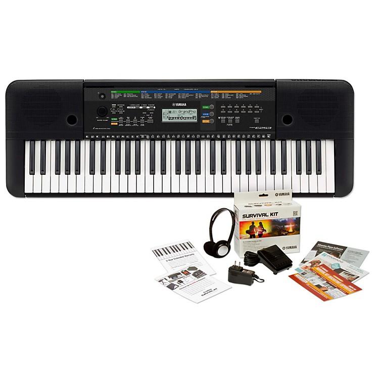 YamahaPSRE253 61-Key Portable KeyboardKeyboard with Survival Kit