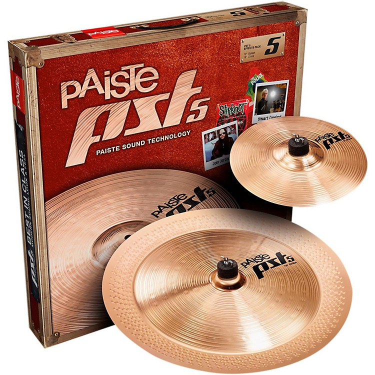Paiste PST 5 Effects Pack 10 and 18 in.
