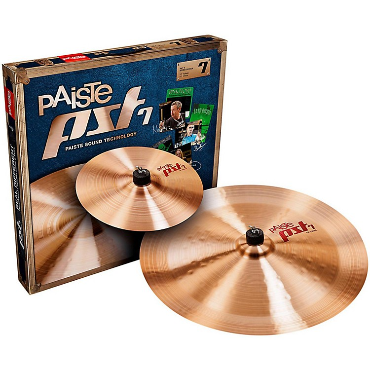 PaistePST 7 Effects Pack10 and 18 in.