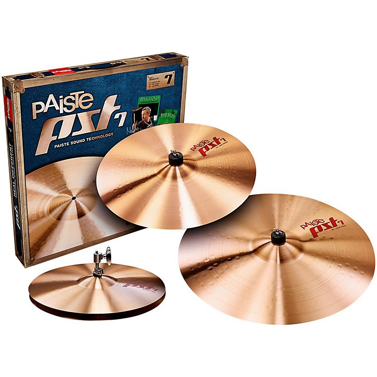 Paiste PST 7 Light/Session Set 14, 16 and 20 in.