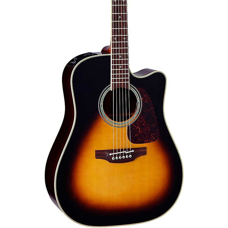 TakaminePTU241C Dreadnought Acoustic-Electric GuitarTobacco Sunburst
