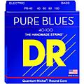 DR Strings PURE BLUES Lite 4-String Bass Strings (40-100)