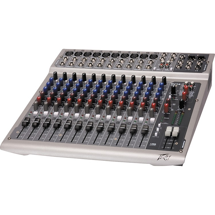 Peavey PV 14 USB 14-Channel Mixer with Digital Output and Effects