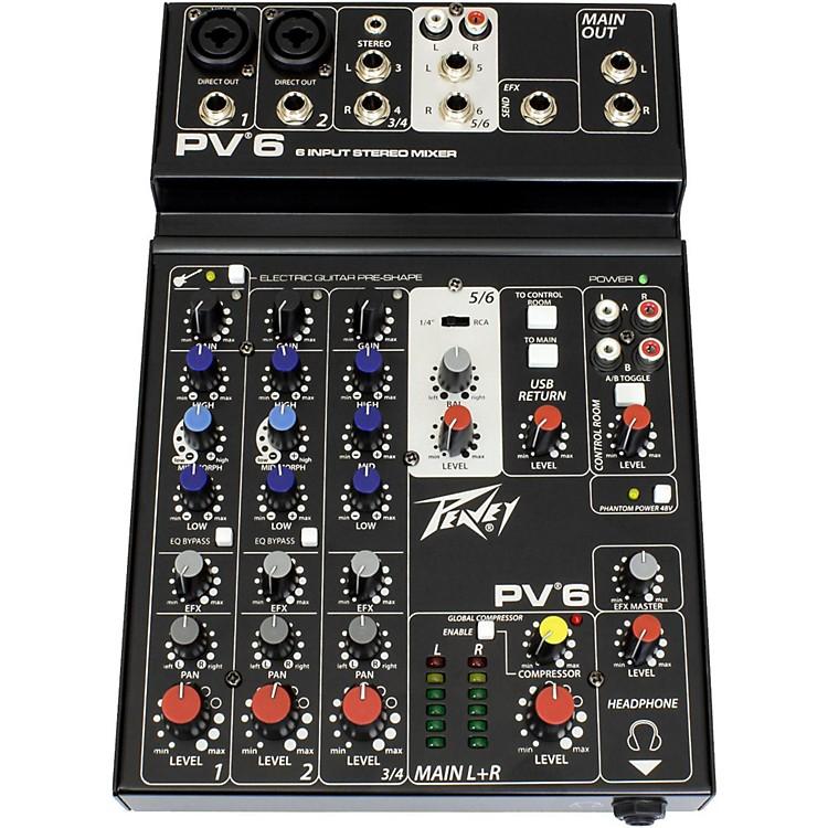 PeaveyPV 6 Mixer