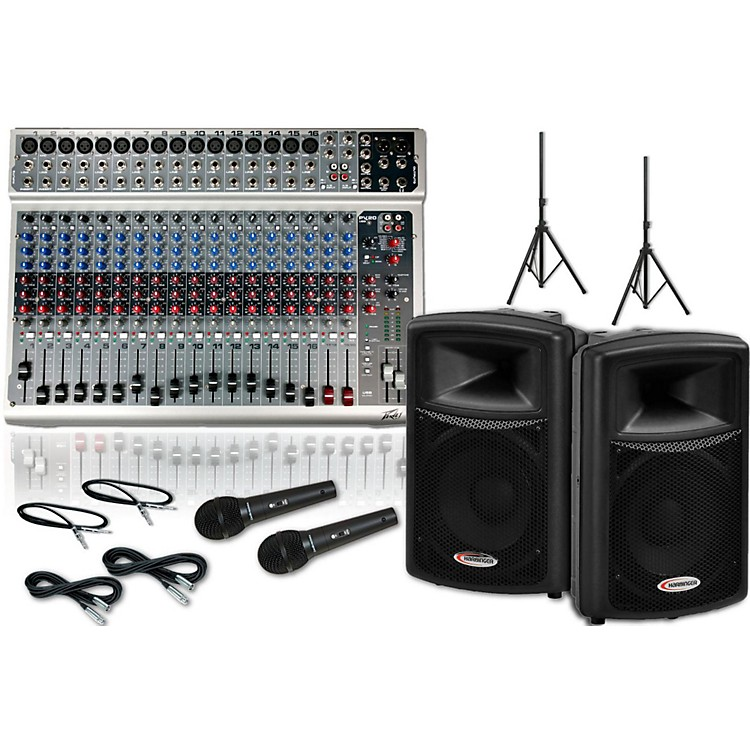Peavey PV20 USB / Harbinger APS12 PA Package