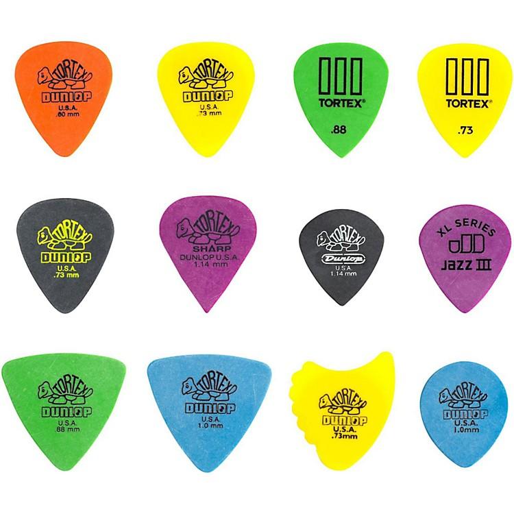DunlopPVP110 Pick Tortex Variety12 Pack