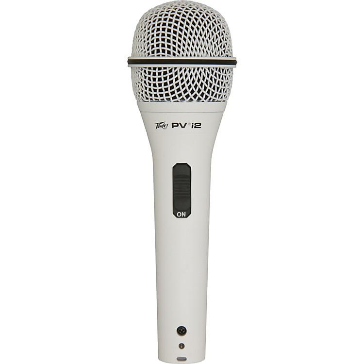 PeaveyPVi 2G 1/4 Dynamic Handheld MicrophoneWhite