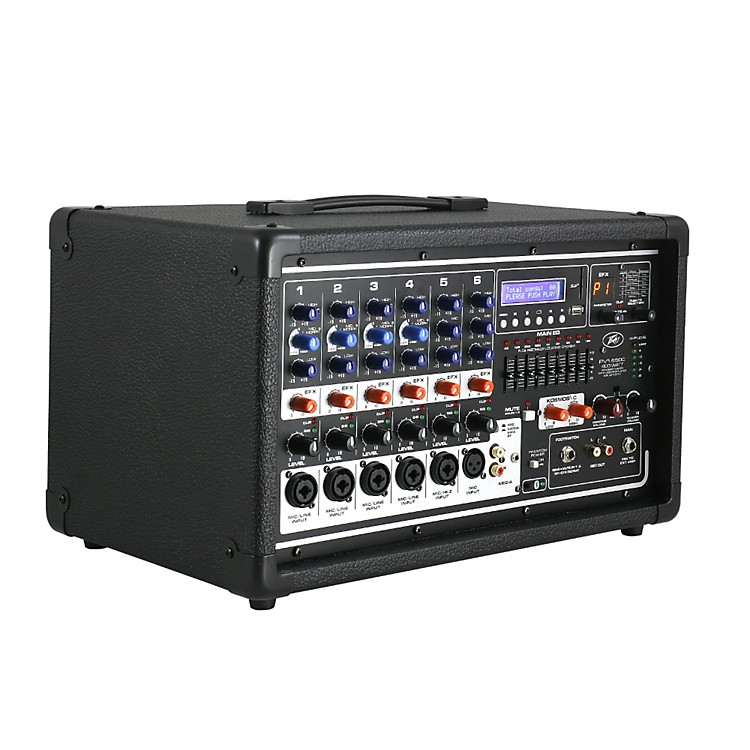 Peavey PVi 6500 6-Channel 400W Powered PA Head with Bluetooth and FX  888365829067