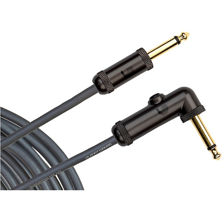 D'Addario Planet Waves PW-AGRA Circuit Breaker Cable Right Angle-Straight  20 ft.