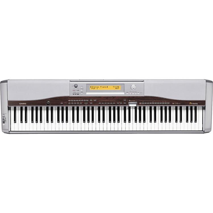 casio px 555 88 key privia keyboard music123. Black Bedroom Furniture Sets. Home Design Ideas