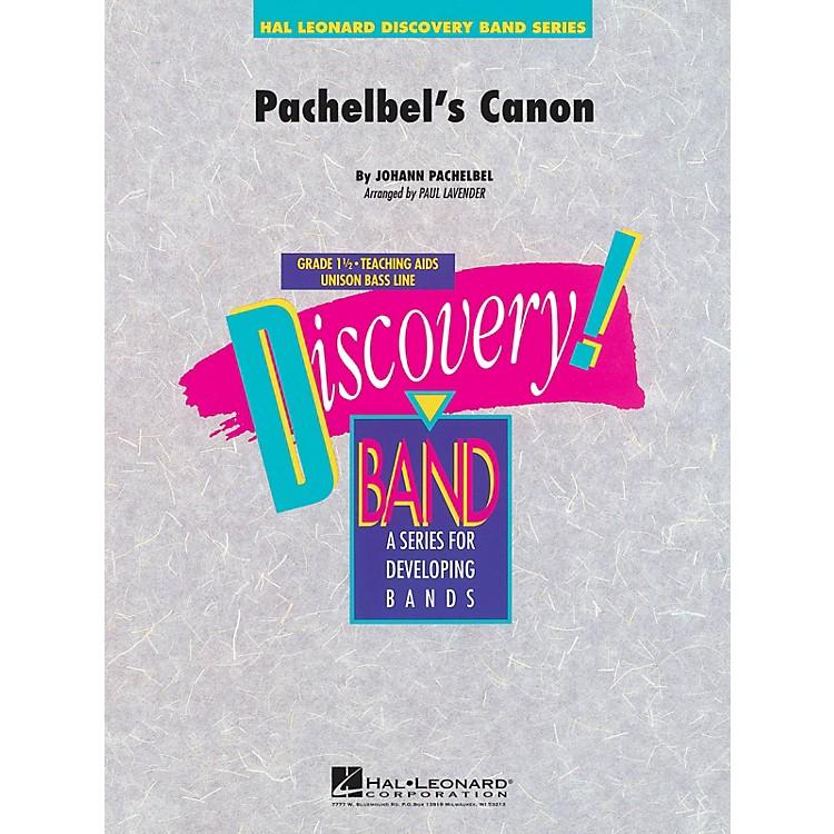 Hal LeonardPachelbel's Canon Concert Band Level 1.5 Arranged by Paul Lavender