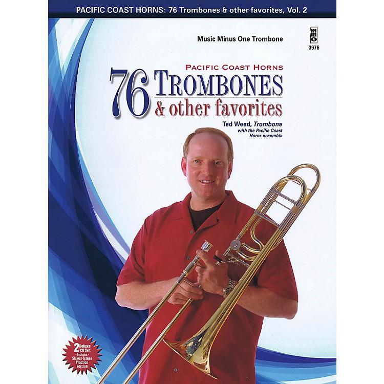 Hal LeonardPacific Coast Horns - 76 Trombones & Other Favorites, Vol. 2 for Trombone Book/2CD