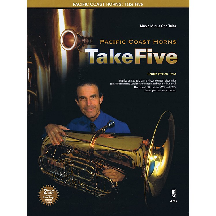 Music Minus OnePacific Coast Horns, Volume 1 - Take Five Music Minus One Series Softcover with CD by Pacific Coast Horns