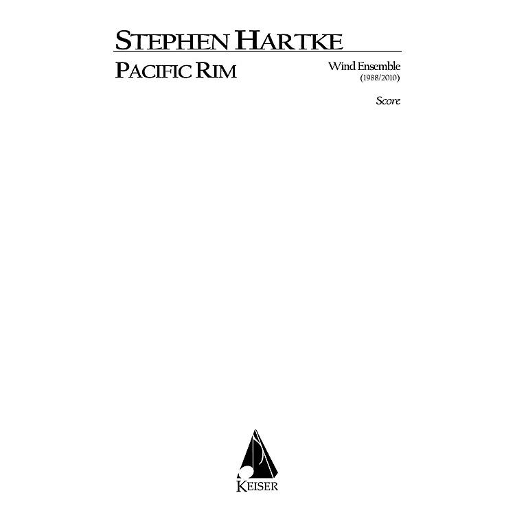 Lauren Keiser Music PublishingPacific Rim for Wind Ensemble (Full Score) LKM Music Series by Stephen Hartke