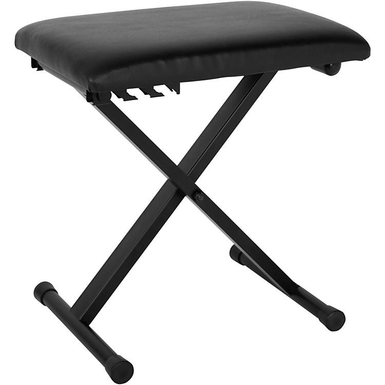 Musician's GearPadded Piano BenchBlack