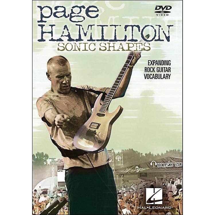 Hal LeonardPage Hamilton - Sonic Shapes: Expanding Rock Guitar Vocabulary (DVD)