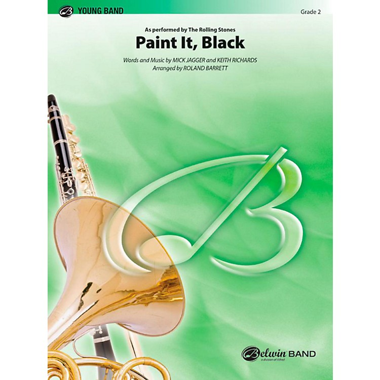 Alfred Paint It Black Concert Band Level 2 Set