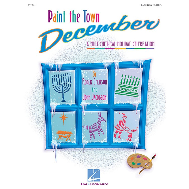 Hal LeonardPaint the Town December (Holiday Musical) (A Multicultural Holiday Celebration) PREV CD by Roger Emerson