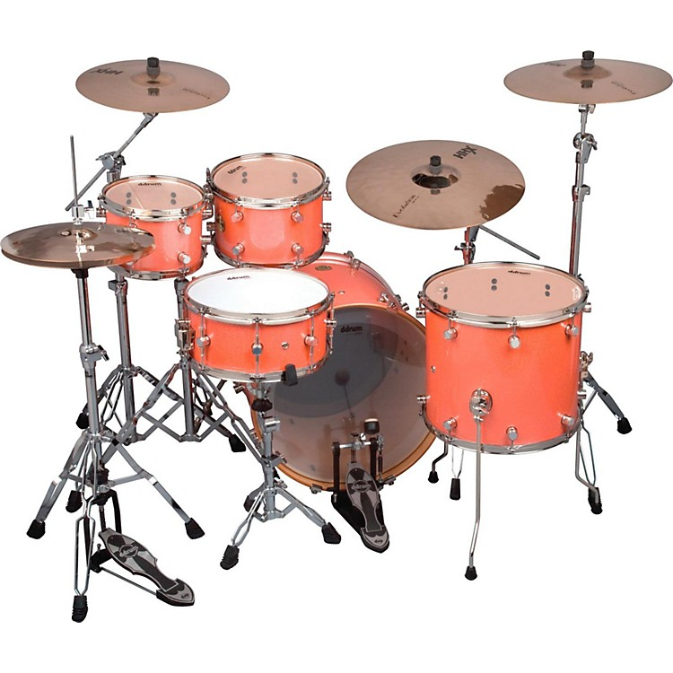Ddrum Paladin Maple Fusion 5-Piece Shell Pack Vintage Coral Sparkle