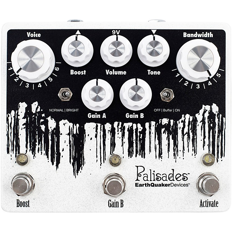 EarthQuaker DevicesPalisades V2 Overdrive Effects Pedal