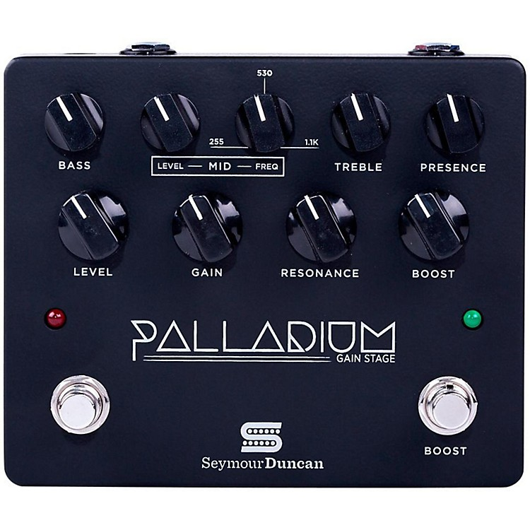 Seymour Duncan Palladium Gain Stage Distortion Guitar Effects  Pedal (Black)  888365911199