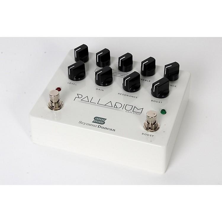 Seymour DuncanPalladium Gain Stage Distortion Guitar Effects  Pedal (White)888365841151