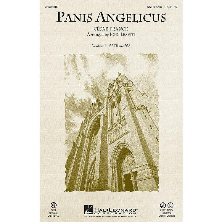 Hal LeonardPanis Angelicus Chamber Orchestra Arranged by John Leavitt