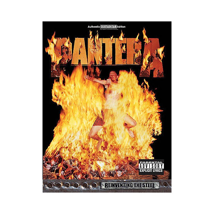 Alfred Pantera - Reinventing the Steel Guitar Recorded Version Series Softcover Performed by Pantera