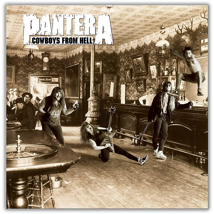 WEA Pantera - <i>Cowboys From Hell</i> 180 Gram Vinyl 2 LP