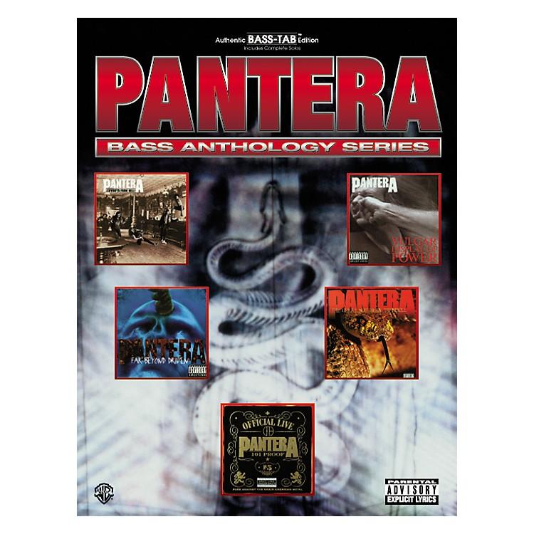 AlfredPantera Bass Guitar Tab Book
