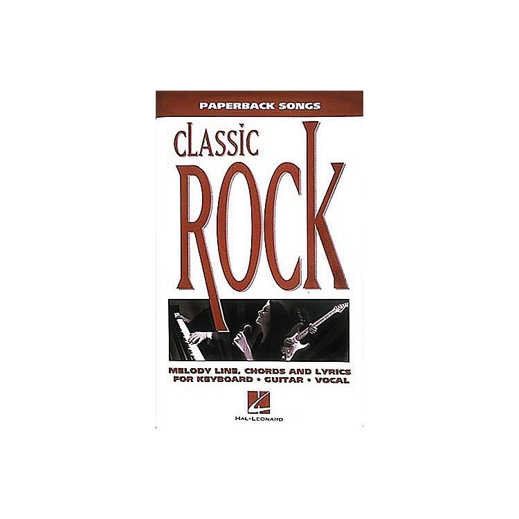 Hal LeonardPaperback Songs - Classic Rock Book
